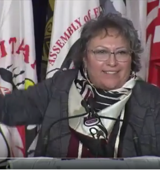 Representative Plaintiff Margaret Swan Speaks at the 2019 Special Chiefs Assembly